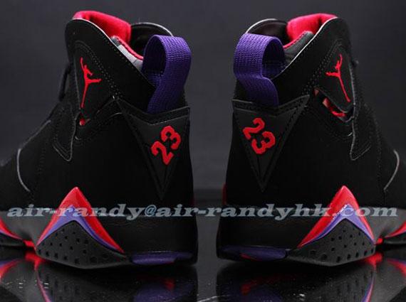 buy online 1f75b 6d836 Air Jordan VII  Raptors  - Black - Red - Purple - SneakerNews.com