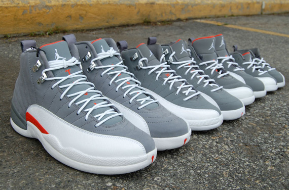 2f6ea70d3730 Air Jordan XII  Cool Grey  - Full Family Sizes - SneakerNews.com