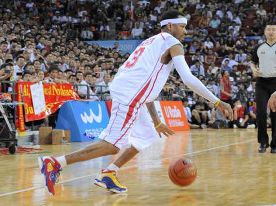 Allen Iverson Wears Reebok Question 3 In China