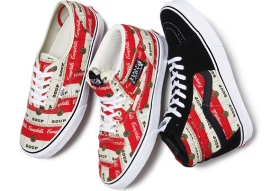 Supreme x Vans 'Campbell's Soup' Pack – Release Date