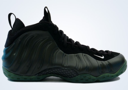 Classics Revisited: Nike Air Foamposite One – Black – Dark Army (2008)
