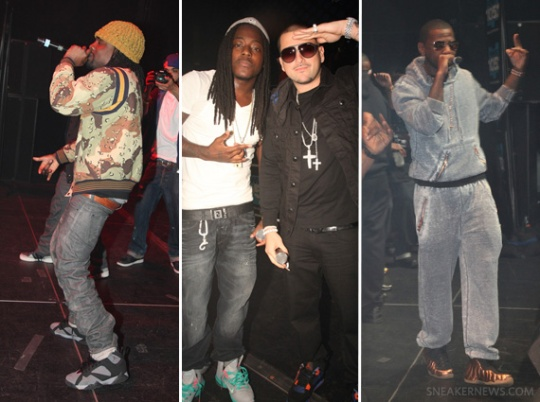 Celebrity Feet: Hip-Hop Stars @ DJ Prostyle Birthday Concert