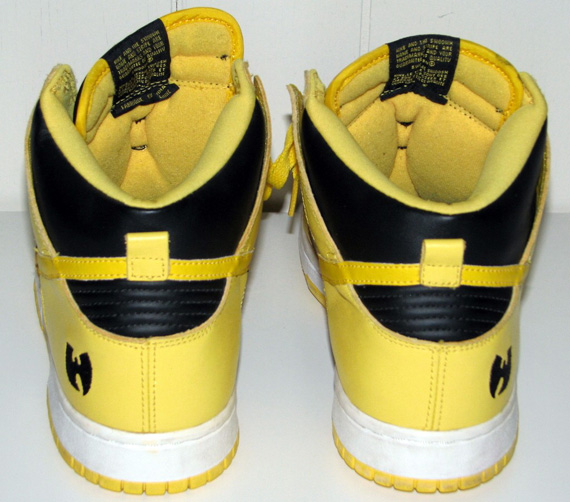 official photos fb039 cf579 Wu-Tang x Nike Dunk High (1999)