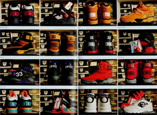 Ewing Collection Feature in Sneaker Freaker 24