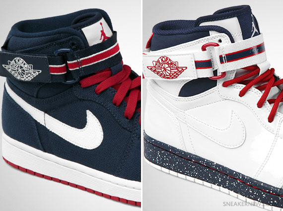 new product 78244 ca2b2 Air Jordan 1 High Strap Premier  USA  Pack – Release Date