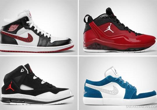 Jordan Brand June 2012 Footwear