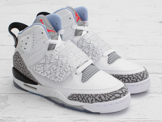 ab7cefe4ff99 Jordan Son Of Mars GS - White - Prism Blue - Wolf Grey - SneakerNews.com