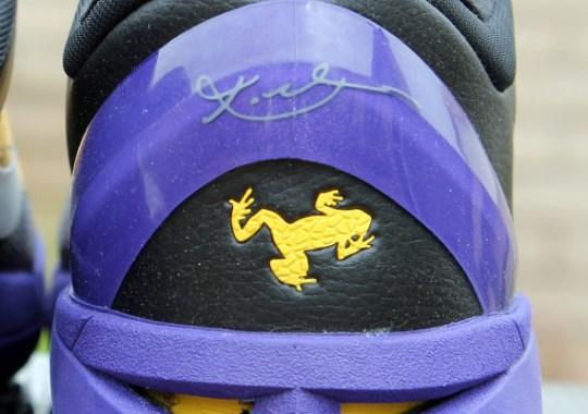 Nike Zoom Kobe VII 'Poison Dart Frog' Lakers – Release Reminder