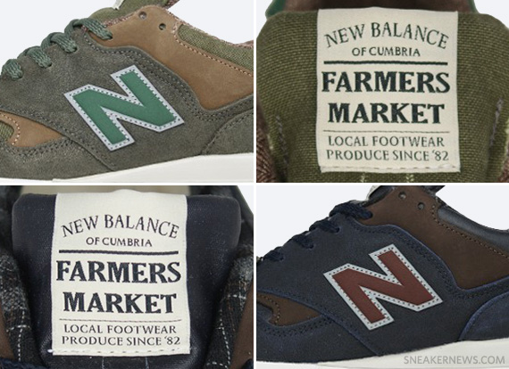 new balance 577 farmers market size