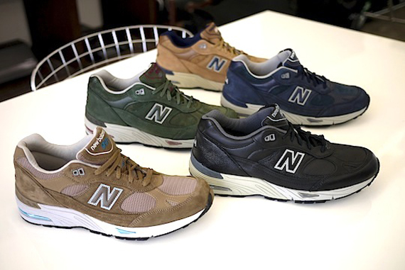 new balance 991 leather