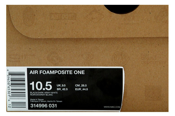 ea417606a43 Nike Air Foamposite One - Black - Dark Army (2008)