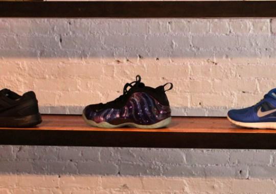 Nike Air Foamposite One 'Galaxy' Restock @ 21 Mercer