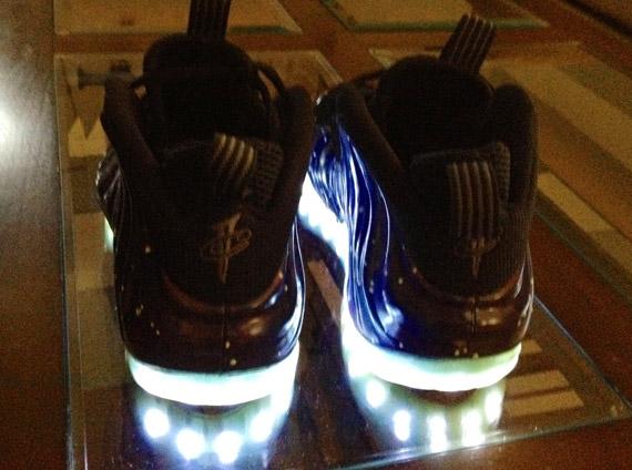 Nike Air Foamposite One Galaxy Light Up Customs By Jason
