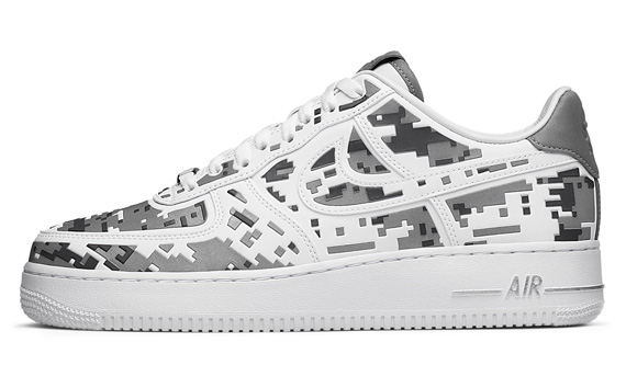 8de59016e96b5 Nike Air Force 1 Low 'Digi Camo' 520505-100 06/24/12. Advertisement. show  comments