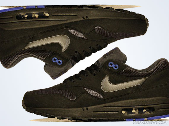 watch 83715 f37e0 Nike Air Max 1 – Black – Blue  Fall 2012