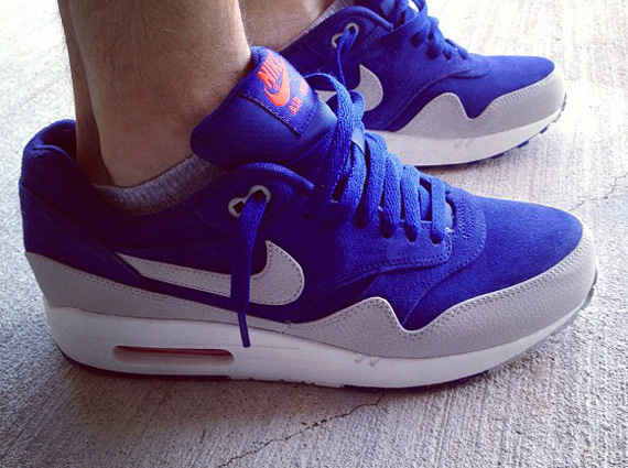 Nike Air Max 1 Premium Holiday 2012 On Foot Preview
