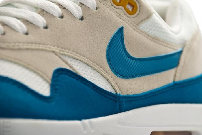 Nike Air Max 1 Summit White Shaded Blue Sandtrap