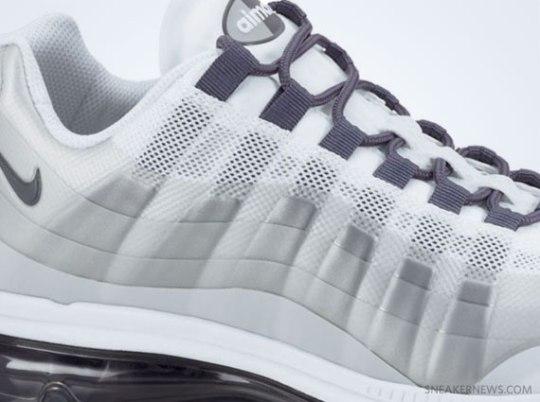 Nike Air Max+ (95) 360 – White – Grey – Anthracite
