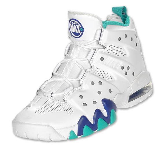 promo code 5fee7 bf380 cheap Nike Air Max Barkley White Deep Royal New Green