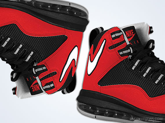 competitive price 63889 8bc53 Nike Air Max Darwin 360 – Varsity Red – Black