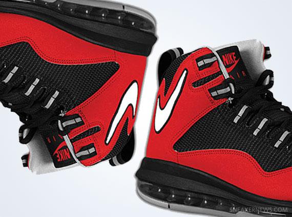 competitive price 0f4f0 29cf6 Nike Air Max Darwin 360 – Varsity Red – Black