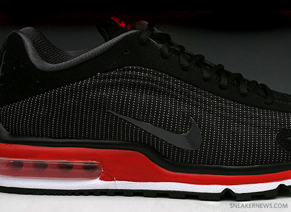 new style abcd5 8c696 Nike Air Max R4 – Black – Varsity Red