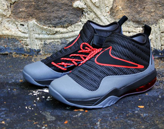 on sale 4d852 fc7a9 Nike Air Max Shake Evolve – Black – Dark Grey – Varsity Red   Available