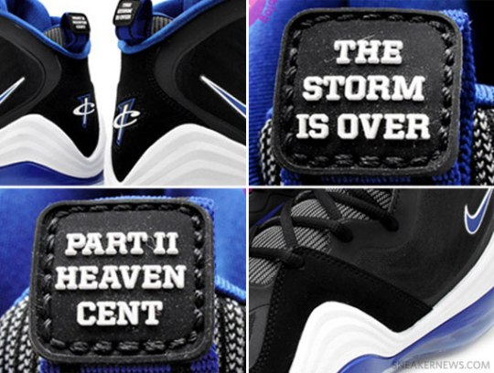 Nike Air Penny V 'Orlando' – Black – Blue – White