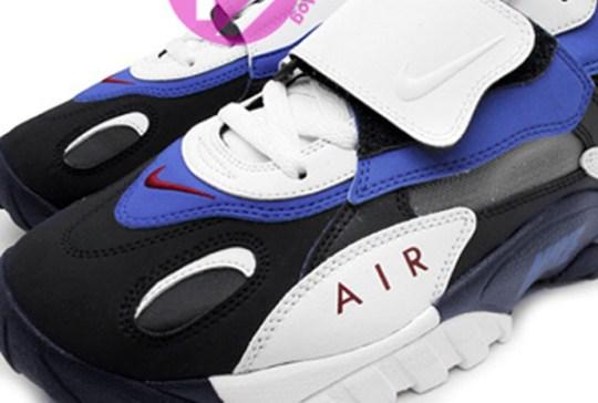 Nike Air Speed Turf Max – White – Black – Blue – Red