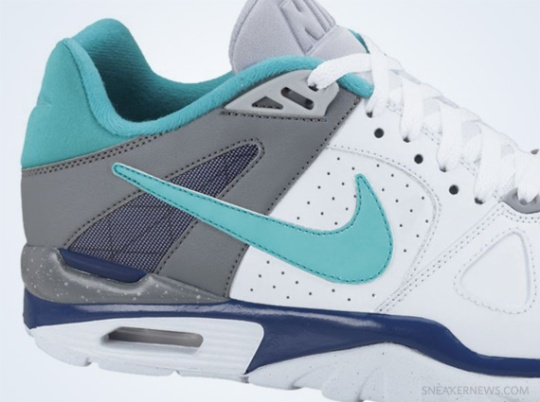 Nike Air Trainer Classic – White – New Green – Deep Royal Blue