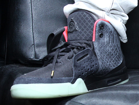 Nike Air Yeezy 2 'Solar Red' - On-Feet - SneakerNews.com