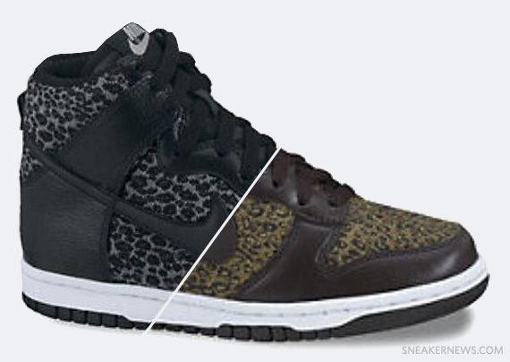 quality design e4494 71db6 Nike Dunk High Leopard Pack