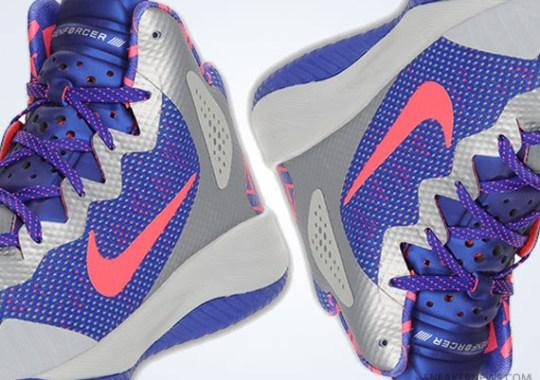 Nike Zoom Hyperenforcer XD – Wolf Grey – Solar Red – Concord b57325ab0c
