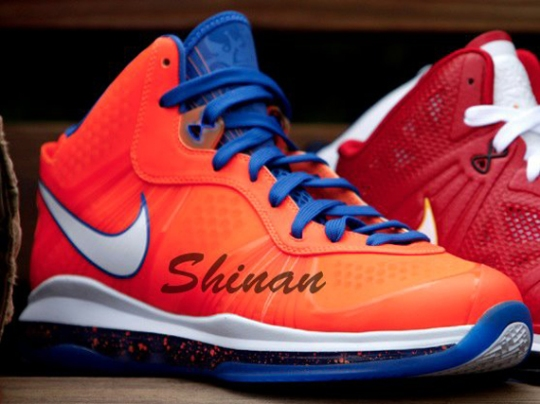 Nike LeBron 8 V/2 'Hardwood Classic' Sample