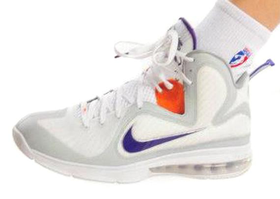 Nike LeBron 9 – Diana Taurasi Phoenix Mercury PE
