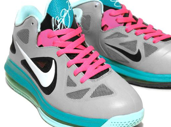 a1326a6c7a7b Nike LeBron 9 Low  Miami Vice  Customs By C2 - SneakerNews.com