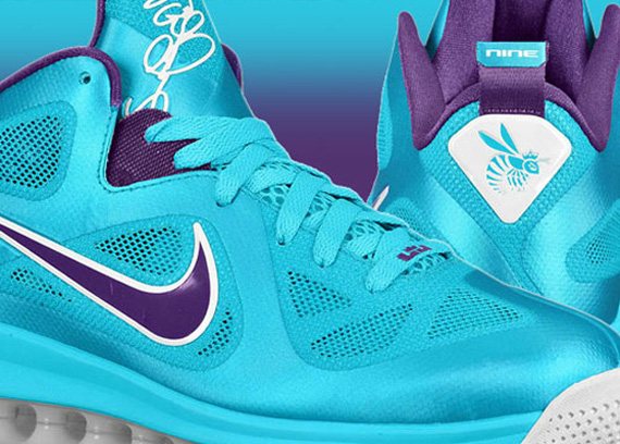 nike lebron 9 low summit lake hornets for sale