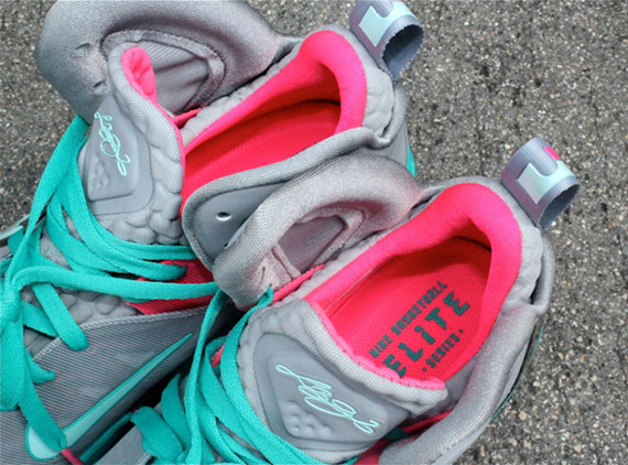 80%OFF Nike LeBron 9 P S Elite Miami Vice Arriving at Retailers ... 6135345a8