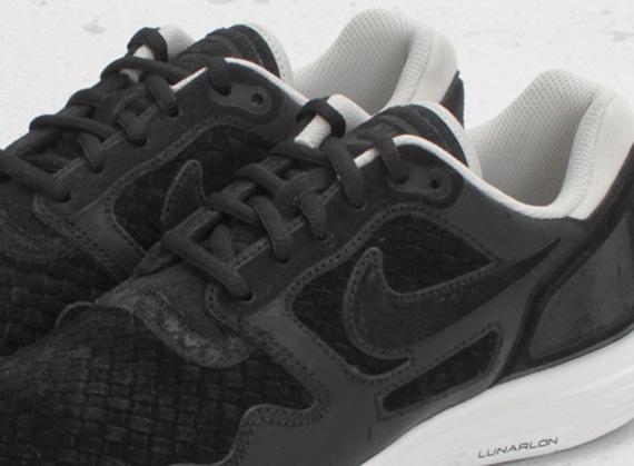 447c1f53891a Nike Lunar Flow Woven - Black - Light Bone - SneakerNews.com