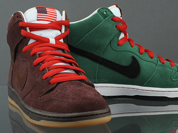 sports shoes 09442 93c3a Nike SB Dunk High Beer Bottle Pack