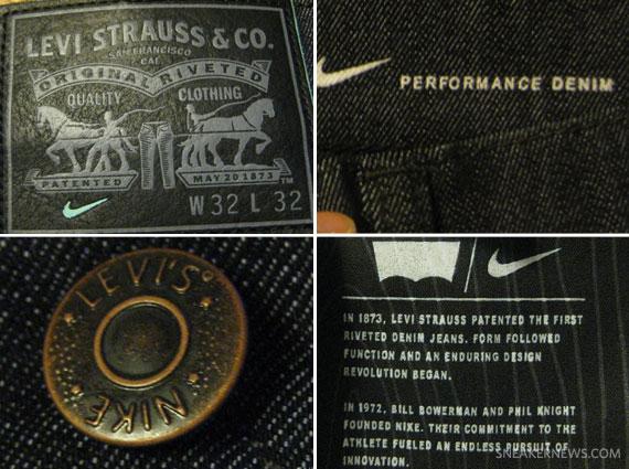Nike SB x Levi s 511 Jeans