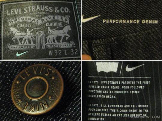 Nike SB x Levi's 511 Jeans