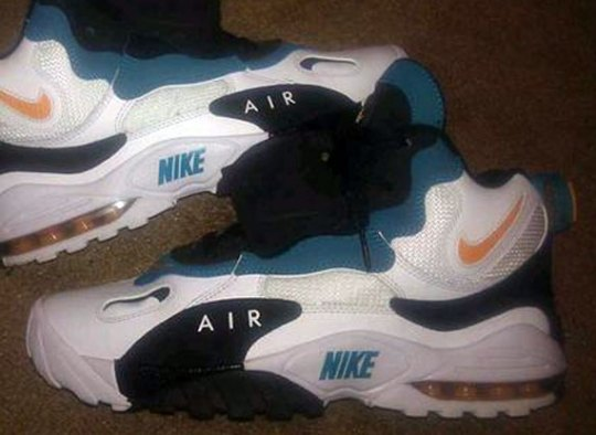Nike Air Speed Turf Max 'Miami Dolphins' – Sample on eBay