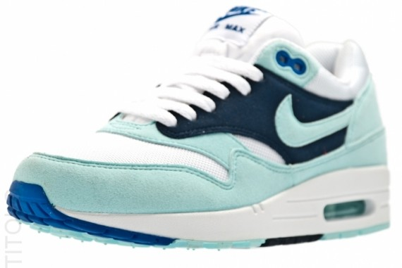Nike WMNS Air Max 1 White Mint Candy Obsidian