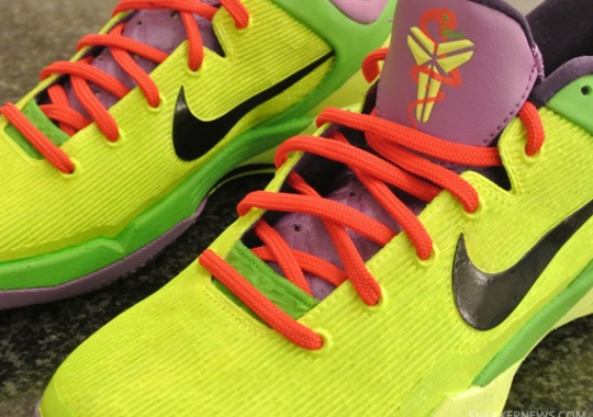 Nike Zoom Kobe VII  Grinch  Customs By Jason Negron 2367d99be0f2