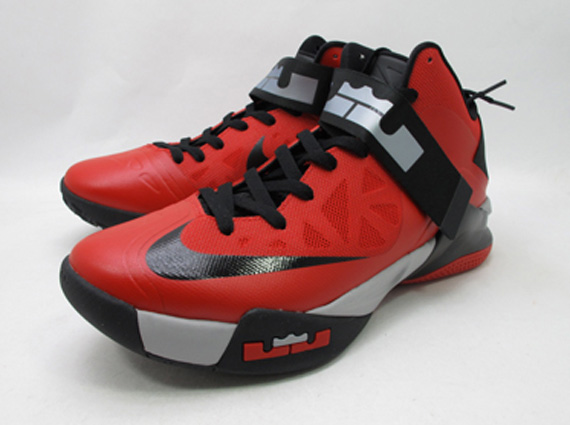 Nike Zoom LeBron Soldier 6 - Red - Black  d7f8d5383