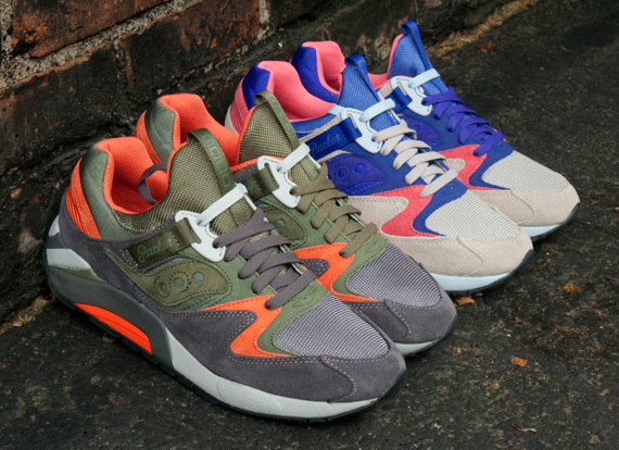 9f190da7a0b5 Packer Shoes x Saucony Grid 9000  Trail Pack  - Release Reminder ...
