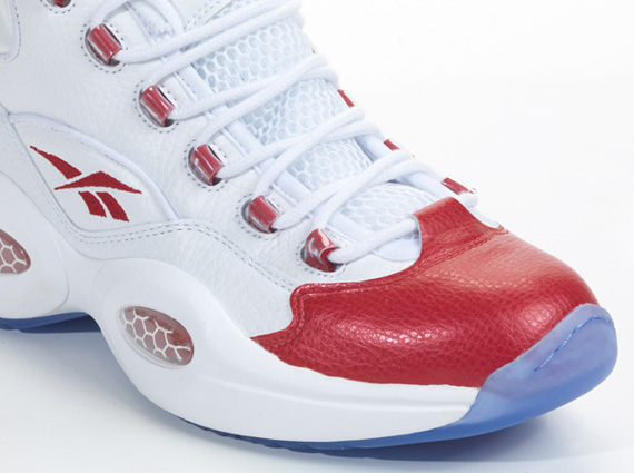 Reebok Question White Red Sneakernews Com