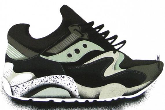 897c86c1bdf Sneaker Freaker x Saucony Grid 9000  Bushwhacker  - SneakerNews.com