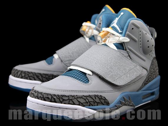 e199c21fc960 Jordan Son Of Mars - Stealth - Blue - University Gold - SneakerNews.com